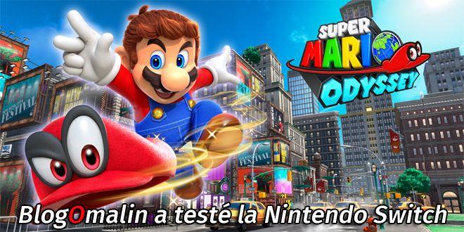 J'ai testé la Nintendo Switch