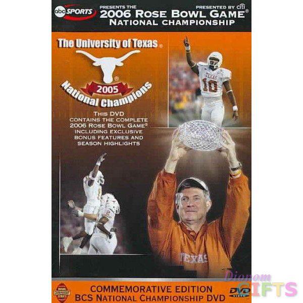 2006 ROSE BOWL-TEXAS VS USC (DVD)-NLA