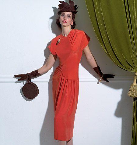 V2787, Misses' Dress