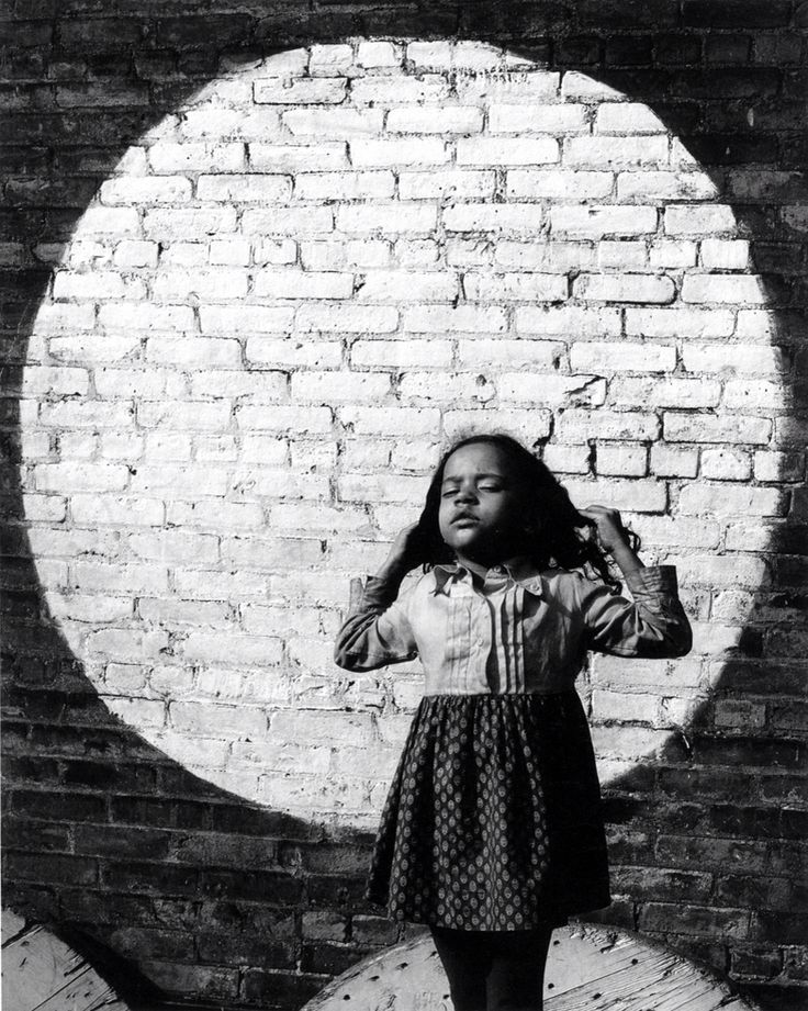 Arthur Tress Girl and Painted Moon