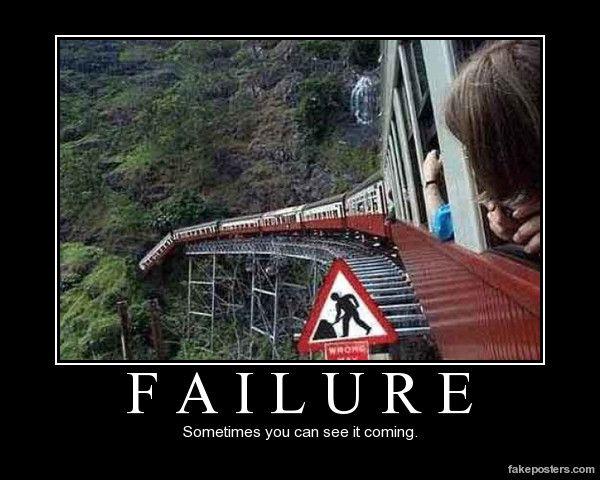 Failure Demotivational Poster Motivational