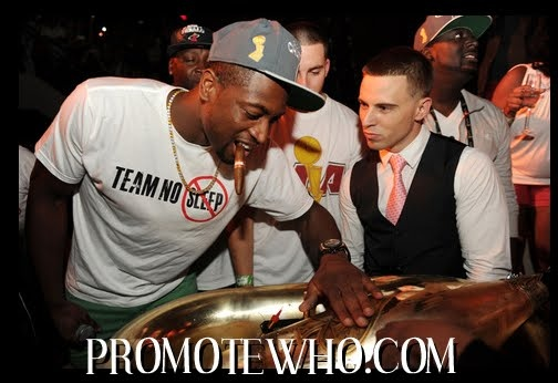 MIAMI HEAT CHAMPIONSHIP PARTY 2012  The Miami Heat LIV'n After Winning The NBA CHAMPIONSHIP