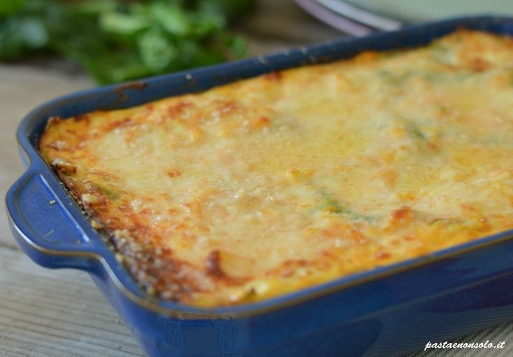 lasagna verde zucca ricotta e besciamella