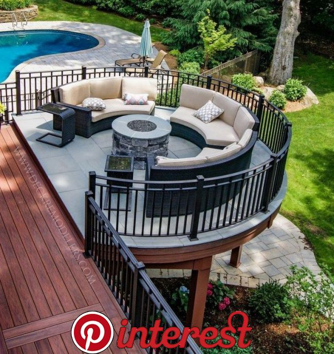 30 Awesome Backyard Ideas For Patios Porches And Decks 9 30 Awesome Backyard Ideas For Patios Porche Patio Deck Designs Deck Designs Backyard Backyard