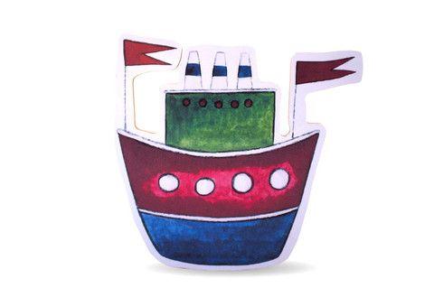 Für kleine Kapitäne: Schiff
