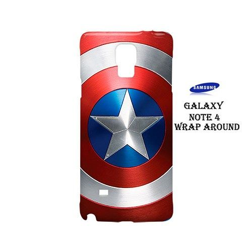 Shield Captain America Case for Samsung Galaxy Note 4