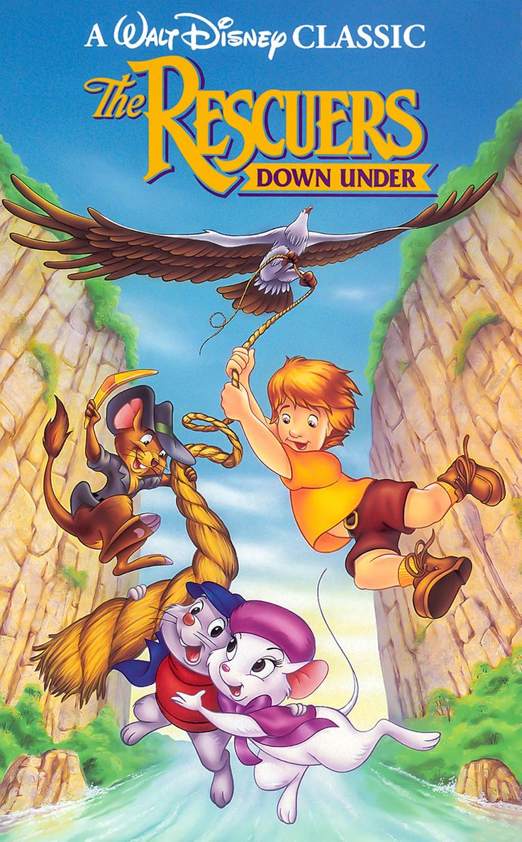 The Rescuers Down Under Family Cartoon Adventure