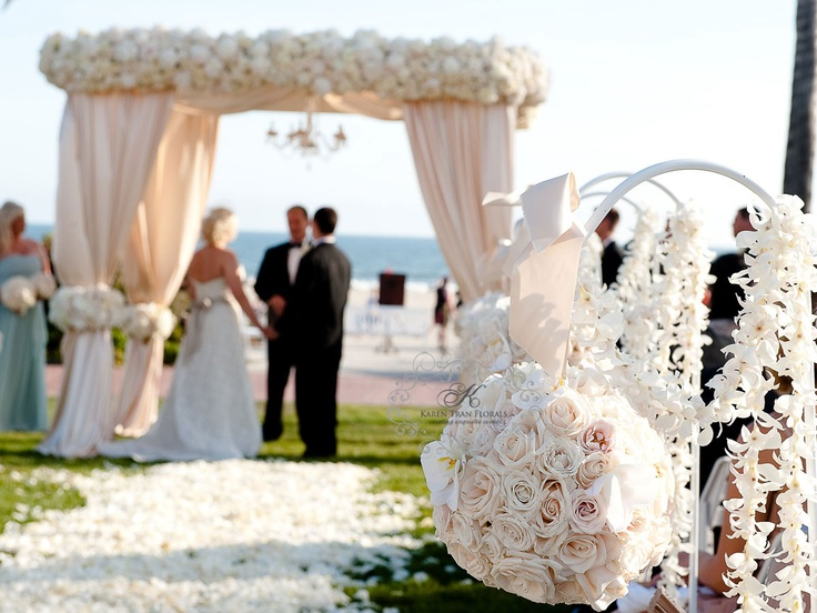Vintage Beach Wedding Ceremony: 17 Best Images About Chuppah Chic On Pinterest