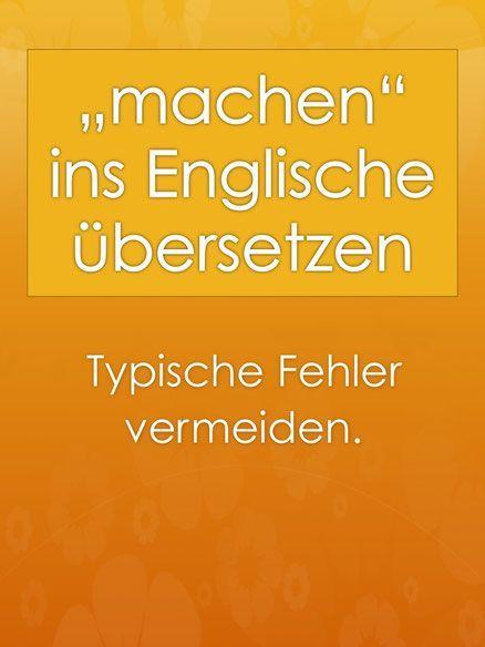 Bekanntschaft machen auf englisch