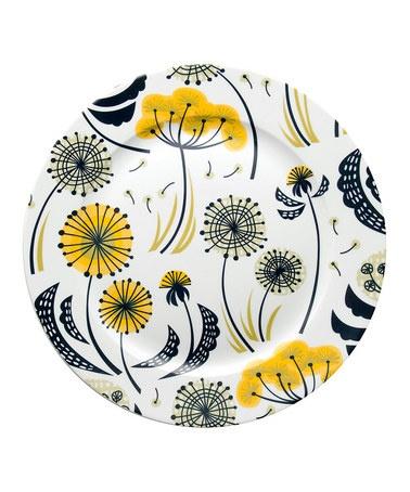 Danica Studio  Dandelion Round Platter
