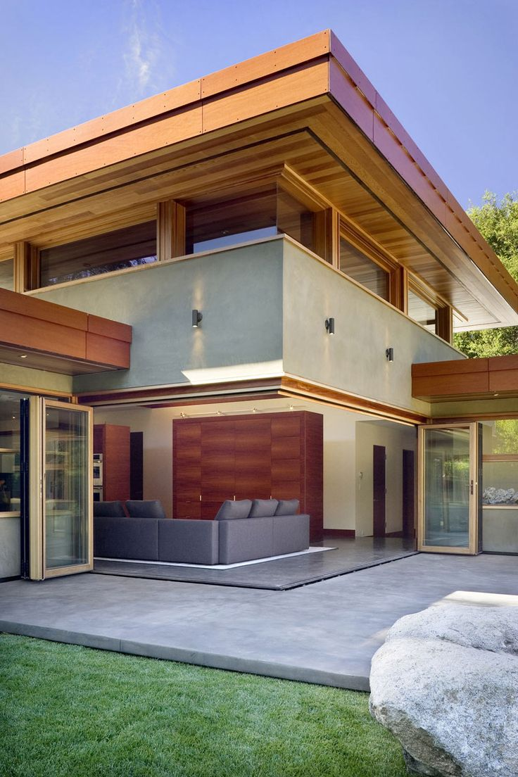 Wheeler Residence in Menlo Park, California by William Duff #Architects