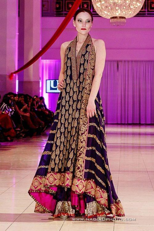 Fashion: Umar Sayeed at International Bridal Wedding Fashion and Jewelry Week 2013