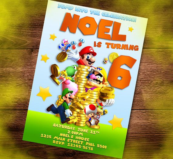 29 best Birthday Invitation Cards Kids Party Invite images on