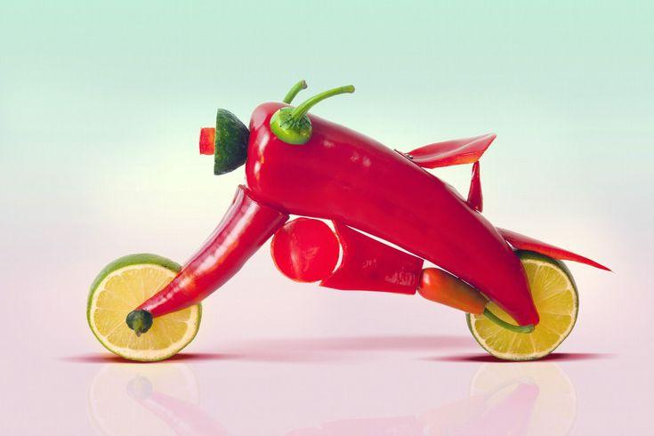 Food art by Dan Cretu