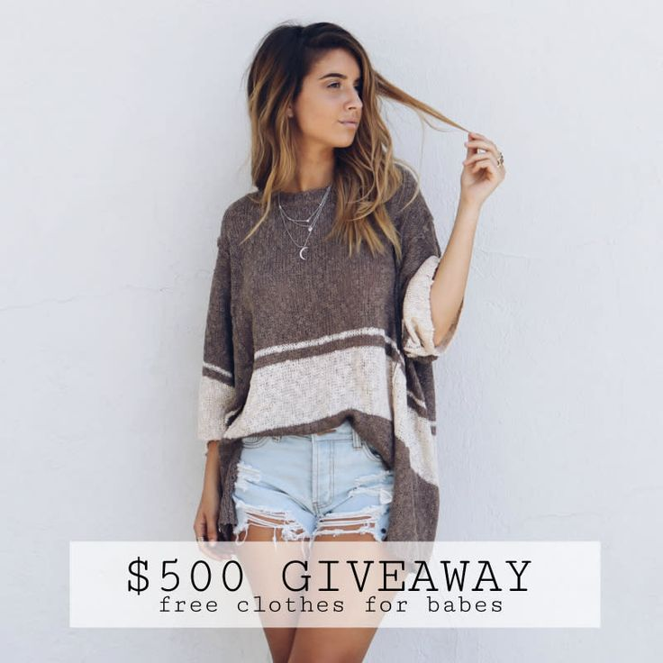 Free clothes giveaways online