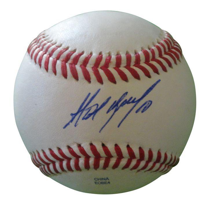 Alexei Ramirez Autographed Rawlings ROLB1 Leather Baseball, Proof Photo
