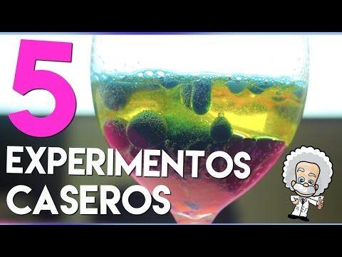 EXPERIMENTOS CASEROS SUPER FACILES QUE CUALQUIERA PUEDE HACER! PROBANDO DIY'S RAROS - YouTube
