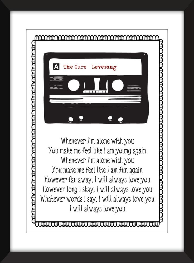 Lyric lyrics to i will always love you by the cure : The 25+ best Lovesong lyrics ideas on Pinterest | Lovesong adele ...
