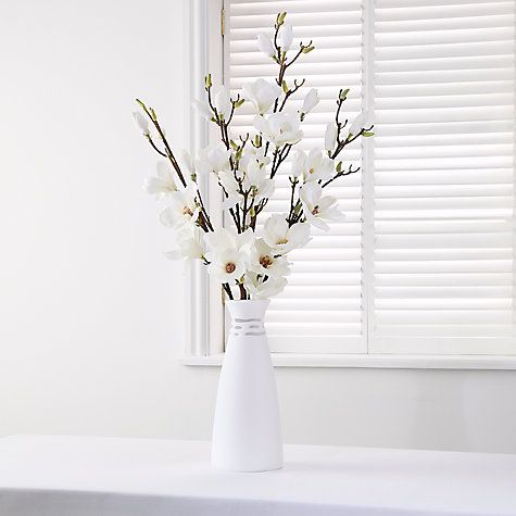 29 best artificial flowers images on pinterest floral arrangements buy floralsilk magnolia arrangement from our artificial flowers plants range at john lewis free delivery on orders over mightylinksfo