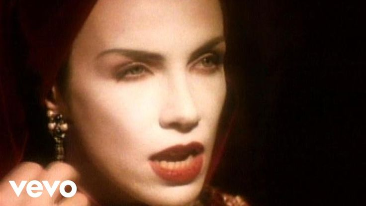 Annie Lennox's official music video for 'Walking On Broken Glass'. Click to…