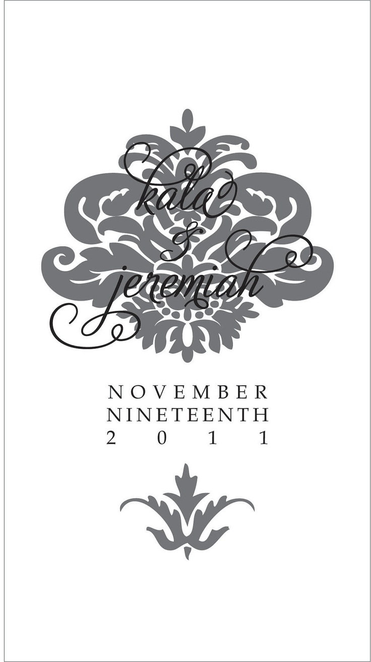 156 best wedding logo design images on pinterest wedding custom wedding logo french quarter