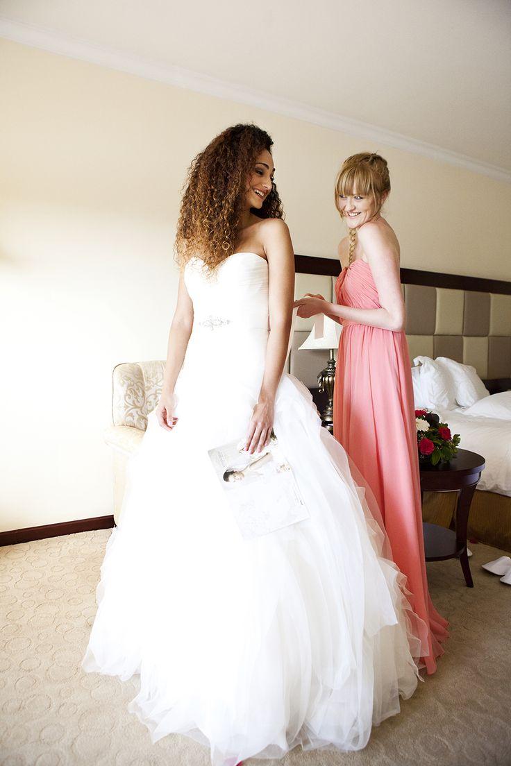 #bride & #bridesmaid final preparations