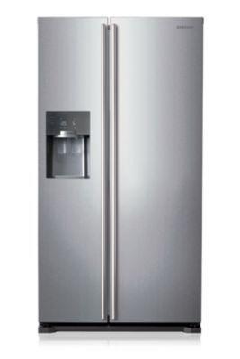 Le réfrigérateur américain RS7567THCSP de Samsung répond à tous vos besoins. Il permet une conservation optimale de vos aliments grâce à sa gestion indépendante des compartiments en vous garantissant un taux d'humidité optimale dans la partie réfrigérateur et un froid sec dans la partie congélateur. Le design du RS7567THCSP s'intègre parfaitement dans toutes les cuisines.<br/>