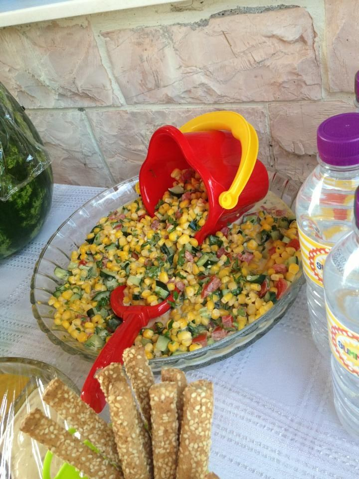 Corn salad for beach B*party