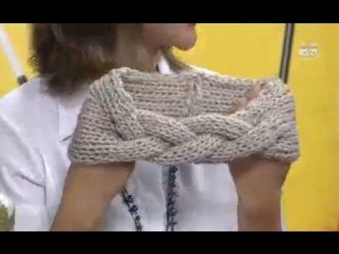 Gola com trança by Vitoria Quintal - YouTube