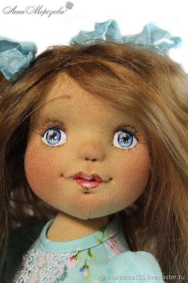 Луиза. Авторская текстильная кукла – купить в интернет-магазине на Ярмарке Мастеров с доставкой