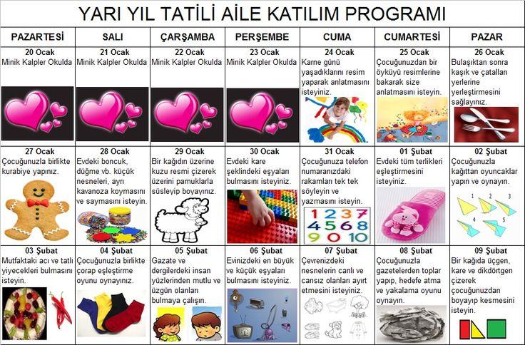 Aile Katıl Programı Okul Öncesi