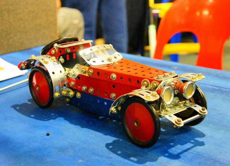 https://flic.kr/p/8Ps5Nb | MG car | Seen at a exibition by the Meccano Guild of South Africa
