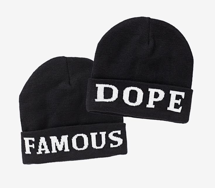 Famous & Dope Beanies #hotforholiday