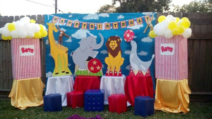 Circus decoration party ideas pinterest circus for Festival decoration ideas