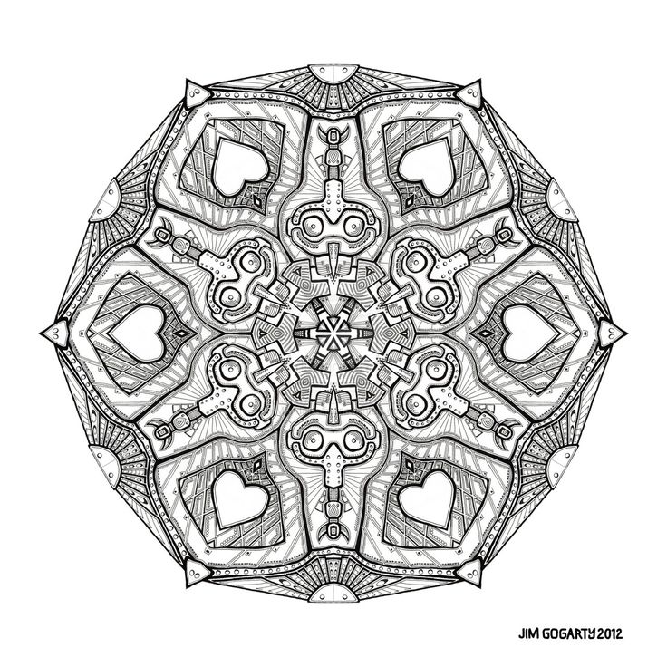 Zen Mandalas Coloring Book : 72 best my black white drawn mandala images on pinterest