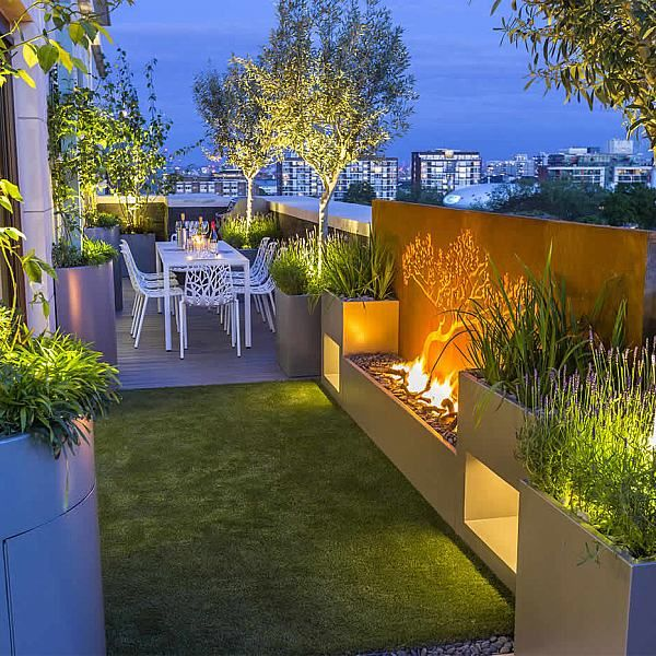 Roof Terrace Garden Design: 1955 Best Roof Terraces Images On Pinterest