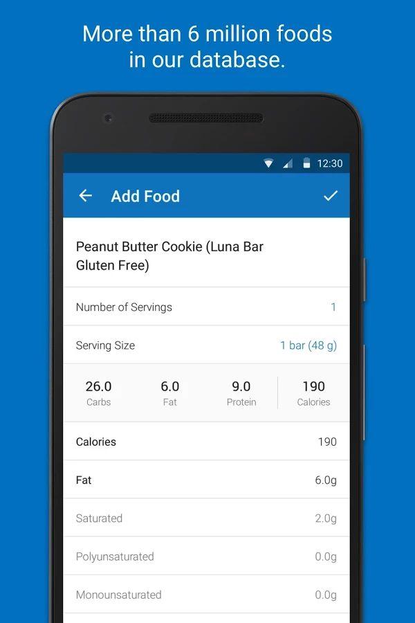 Calorie Counter - MyFitnessPal- screenshot