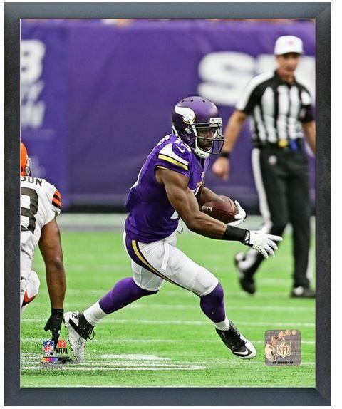"Greg Jennings 2013 Minnesota Vikings -11""x14"" Photo in a Glassless Sports Frame"