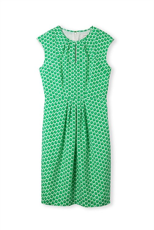 Mini Oriental Print Dress - I know others might have this print as it is CR but it is a great colour and your would look great in it - pair with hot pink