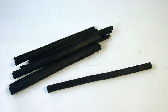 10 salice carbone bastoncini matite schizzo di disegno