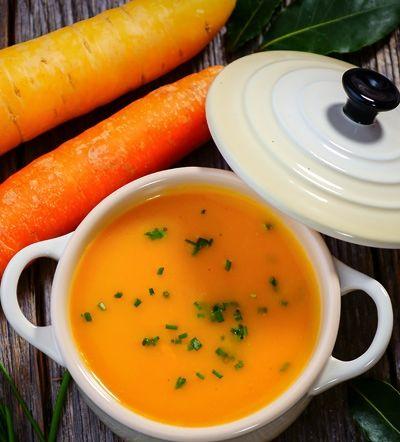 Receta de Crema de zanahoria y curry | Hosteleriasalamanca.es