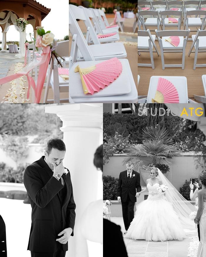 Westin Lake Las Vegas Wedding Andalusian Gardens
