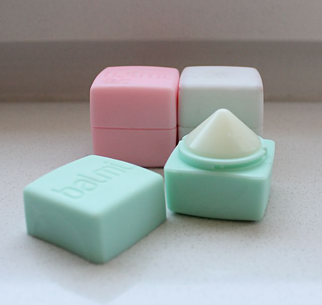 Balmi Lip Balm *K (from the netherlands, but can still purchase; 4 flavors: mint, coconut, strawberry, and raspberry)Ava: I want this!