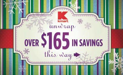 Kmart Holiday Coupon Book