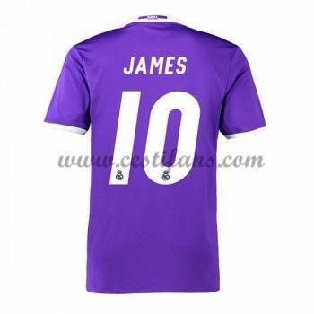 Real Madrid Fotbalové Dresy 2016-17 James 10 Venkovní Dres