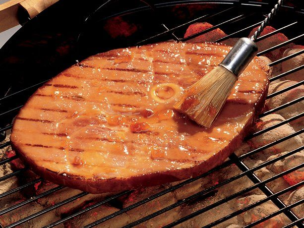 Best 25 grilled ham steaks ideas on pinterest grilled - Steak d espadon grille sauce combava ...