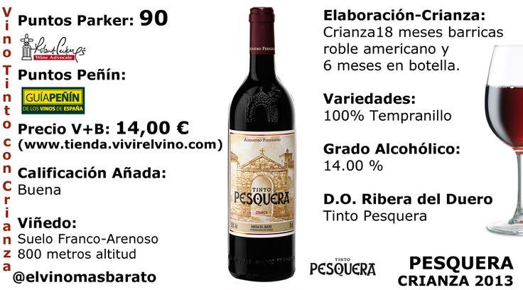 Comprar Pesquera Crianza 2013 | El Vino más Barato