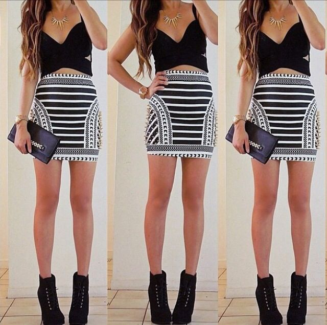 innovative mini skirts outfits 14