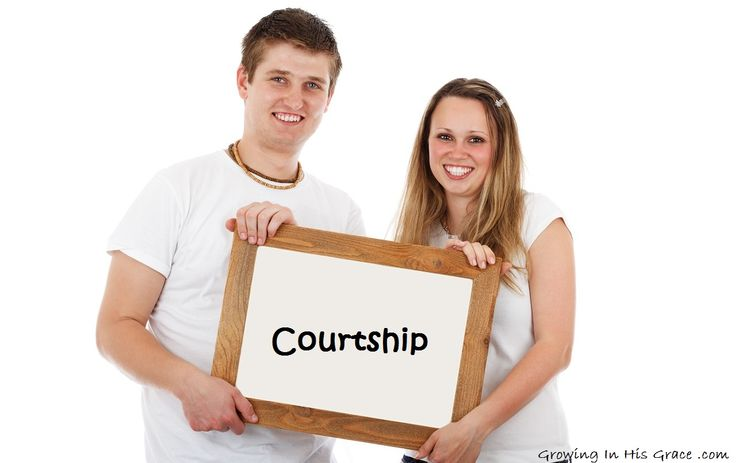 Courtship. There's a lot of talk about it. But do we know what it means?