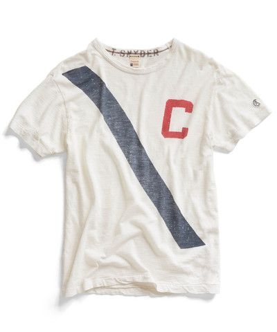 Todd Snyder. White Rowing Crew T-Shirt. $85